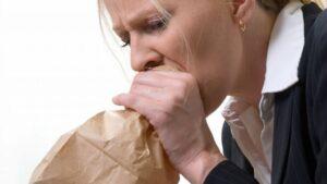 Síntomas de la hiperventilación