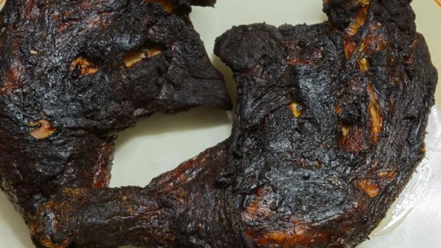 La comida quemada es perjudicial para la salud